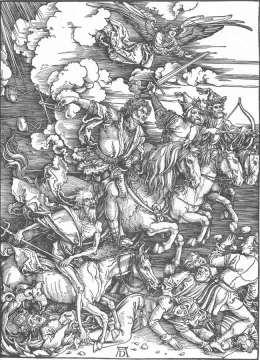 Albrecht Dürer - Jeźdźcy Apokalipsy