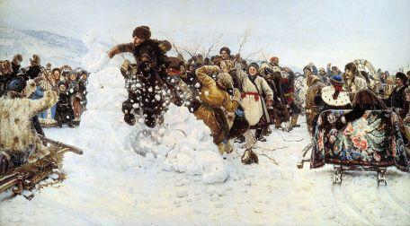 Wasilij Surikow - Zdobycie śnieżnej fortecy
