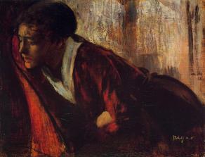 Edgar Degas - Melancholia