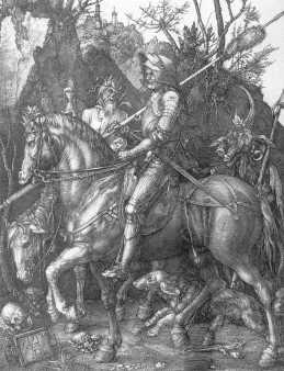 Albrecht Dürer - Rycerz, diabeł i śmierć