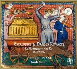 Estampies & Danses Royales - okładka płyty