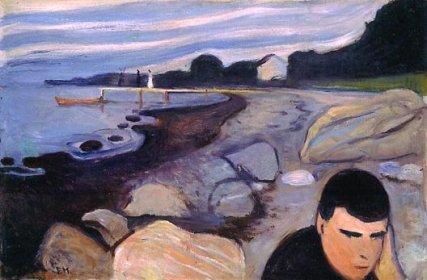 Edvard Munch - Melancholia