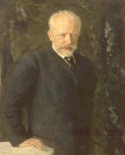 Mikołaj Kuzniecow - Portret Piotra Czajkowskiego