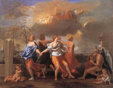 Nicolas Poussin - Taniec