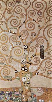 Drzewo życia - fragment fryzu w pałacu Stocklet