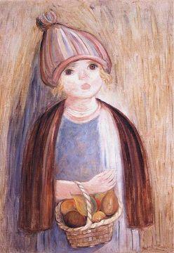 Dziewczynka z gruszkami