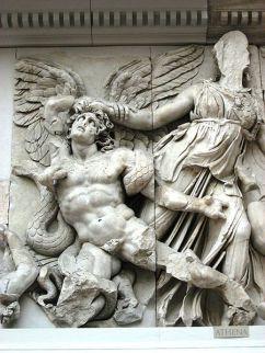 Gigantomachia - fragment Ołtarza Pergamońskiego