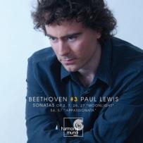 Ludwig van Beethoven: Sonaty fortepianowe vol. 3 - okładka płyty