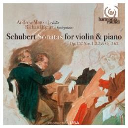 Franciszek Schubert - Sonaty na skrzypce i fortepian - okładka płyty