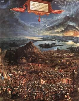 Albrecht Altdorfer - Bitwa Aleksandra