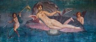 Wenus Anadyomene - fresk pompejański