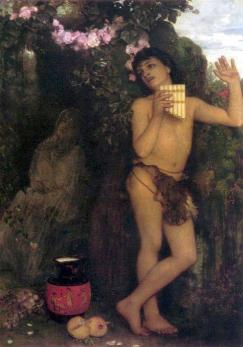 Arnold Böcklin - Dafne i Amaryllis