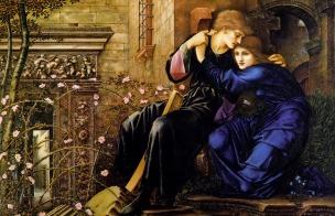 Edward Burne-Jones - Miłość w ruinach