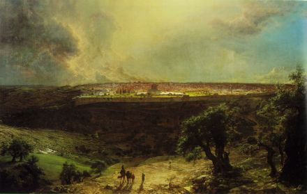 Frederic Edwin Church - Jerozolima
