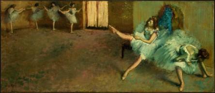 Edgar Degas - Przygotowania do baletu