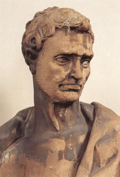 Donatello - Prorok Jeremiasz (fragment)