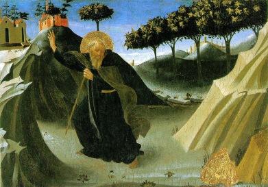 Fra Angelico: Kuszenie świętego Antoniego