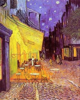 Vincent van Gogh - Kawiarnia w Arles