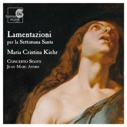 Lamentazioni per la Settimana Santa - okładka płyty