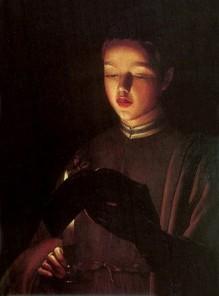 Georges de La Tour - Młody śpiewak