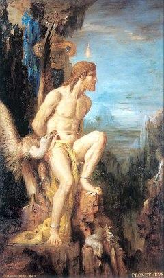 Gustave Moreau - Prometeusz