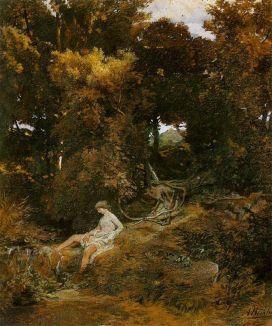 Arnold Böcklin - Nimfa