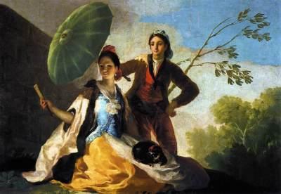 Francisco Goya - Parasolka