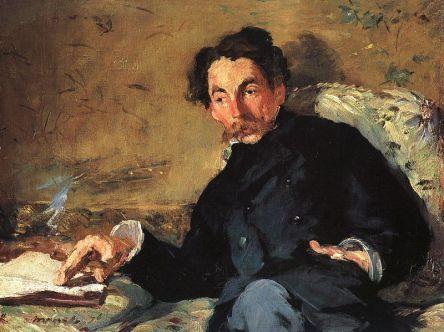 Edward Manet - Portret Stefana Mallarmego