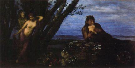 Arnold Böcklin - Wiosenny wieczór