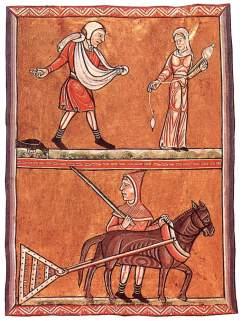 Karta z Psałterza Fécamp (ok.1180)