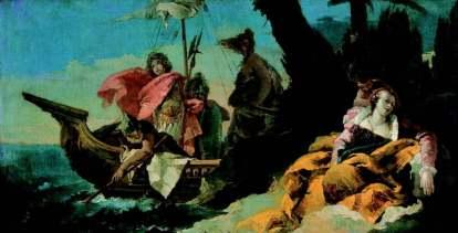Giovanni Battista Tiepolo: Rinaldo opuszczający Armidę
