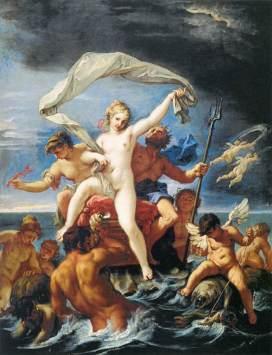Sebastiano Ricci - Triumf Neptuna i Afitryty