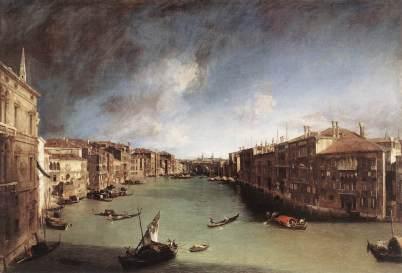 Canaletto - Wielki Kanał