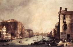 Canaletto - Wenecja: Wielki Kanał zimą