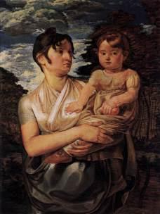 Portret żony z synkiem