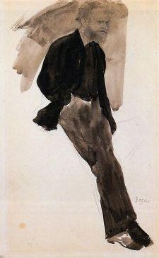 Manet w oczach Edgara Degas