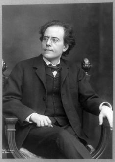 Gustaw Mahler w roku 1909