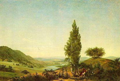 Caspar David Friedrich: Pełnia lata