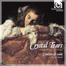 """Crystal Tears"" - okładka płyty"