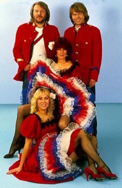 ABBA w roku 1980