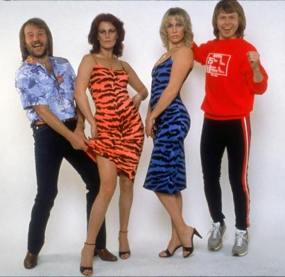 ABBA w 1980 roku