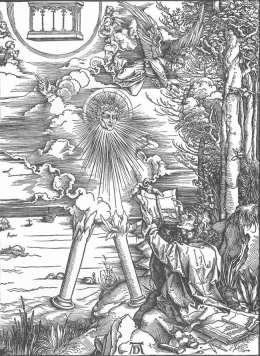 Apokalipsa: św. Jan zjadający księgę