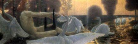 Wilhelm List: Apollo oczarowujący łabędzie