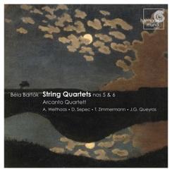 Bela Bartok: Kwartety smyczkowe (okładka płyty)