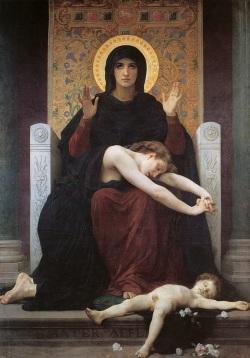 William Bouguereau: Matka Boża Pocieszycielka