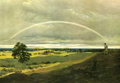 Caspar David Friedrich: Tęcza