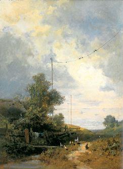 Carl Spitzweg: Obłoki