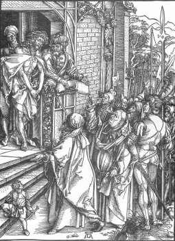Duża Pasja: Ecce homo (drzeworyt)