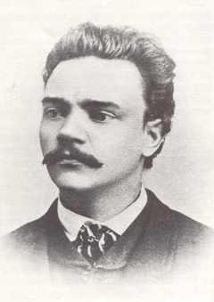 Antonin Dworzak w 1868 roku