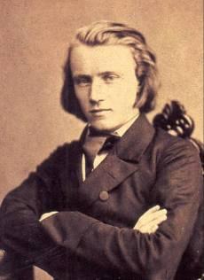 Johannes Brahms w 1853 roku
